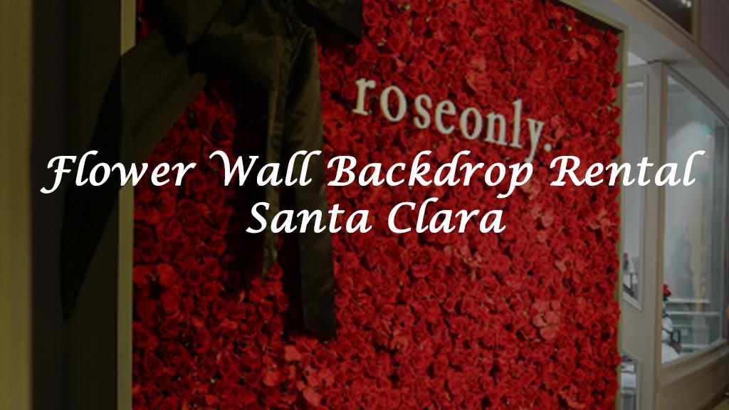 Pickering Flower Wall Rental