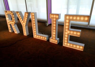 Marquee Letter Rental Baltimore