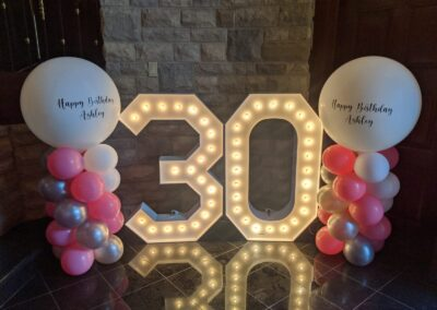 Marquee Number Rental Baltimore