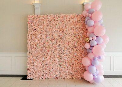 Flower Wall Rental Bel Air