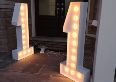 Marquee Letters Rental Chicago