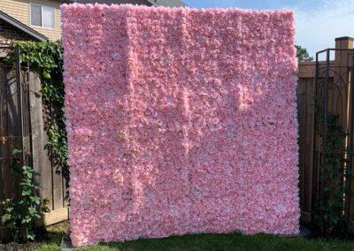 Flower Wall Rental Detroit