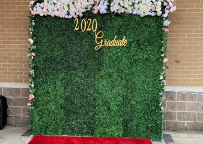 Flower Wall Rental Grand Rapids