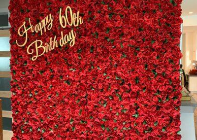 Flower Wall Rental Henderson