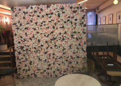 Flower Wall Rental Jacksonville