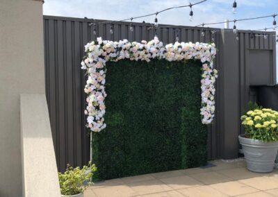 Flower Wall Rental Las Vegas