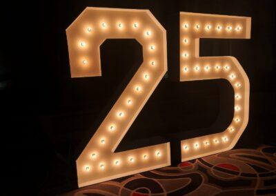Marquee Numbers Rental Las Vegas