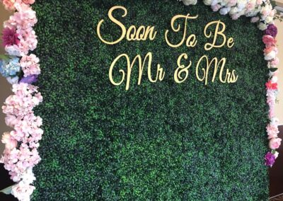 Flower Wall Rental Miami