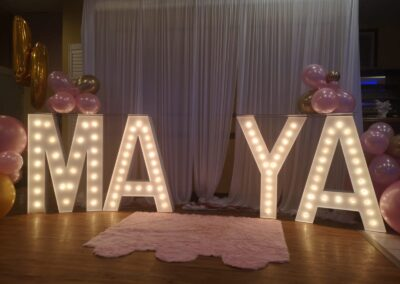 Marquee Letter Rental Springfield