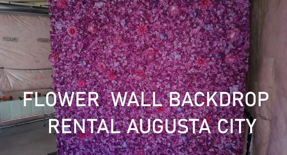 Ajax Flower Wall Rental