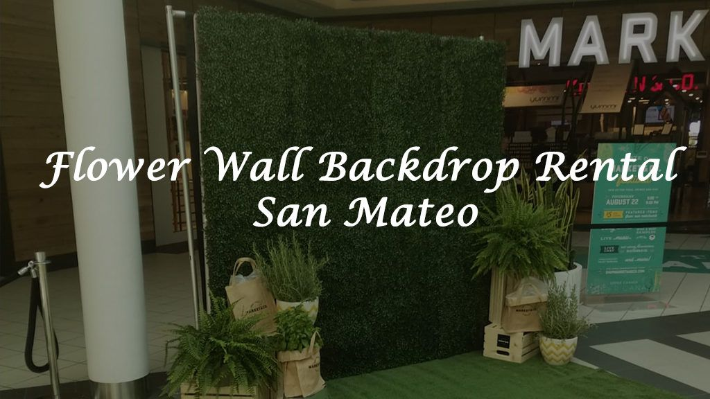 Newmarket Flower Wall Rental