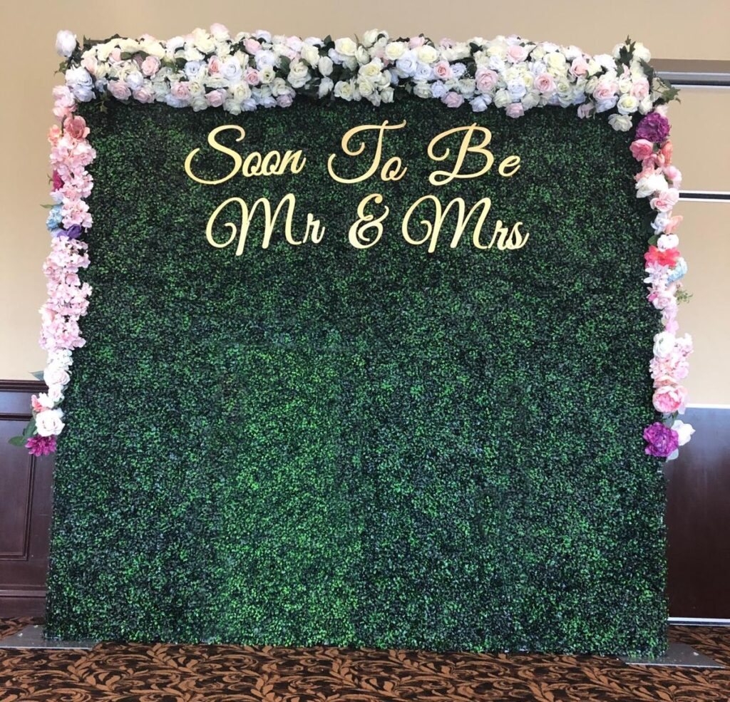 Why You Should Get A Flower Wall For Your Wedding In Miami?
